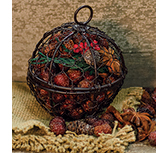 Wire Ball w/Walk in the Woods Potpourri