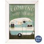 Camping Happily Ever After Framed Print