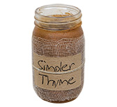 Simpler Thyme Jar Candle, 16oz