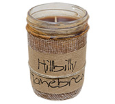 Hillbilly Homebrew Jar Candle, 8oz
