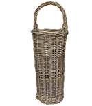 White Washed Willow Basket