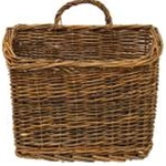 "Willow Wall Basket, 11"" x 13"""