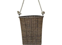 *Willow Basket w/ Rope