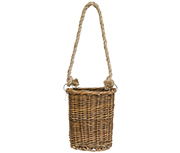 Willow Hanging Basket, 6""