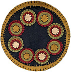 Penny Candle Mat, 9""