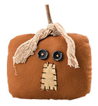 Square Pumpkin Head