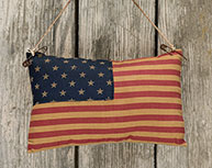 Flag Pillow Ornament