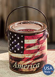 Juicy Apple Americana Candle, 20oz