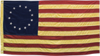 Aged Betsy Ross Flag, 28""