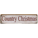 Country Christmas Block