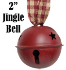 Burgundy Country Bell - 2""