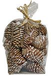 Snowy Pinecone Fillers, 6 oz.