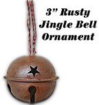 Rusty Country Bell, 3""