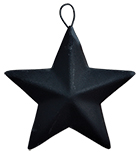 "2-1/4"" Mini Barn Star - Black"