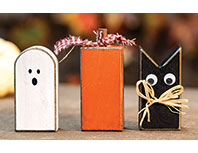 3/Set, Wooden Hallowfriends