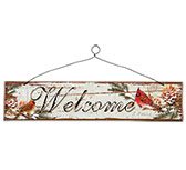Cardinal Welcome Sign