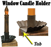 Window Candle Holder (GH1125)