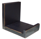 Black Wooden Bowl Holder