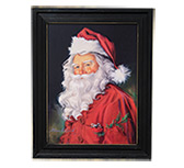 Santa w/Pocket Mouse Portrait