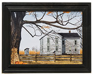 Harvest Time House Framed Print, 12x16
