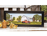 Summer on the Farm Framed Print