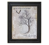 Roots & Wings Framed Print