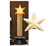 Star Silicone Warm Bulb, 1.5""