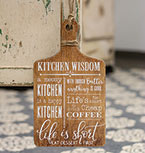 Kitchen Wisdom Hanging Cheeseboard