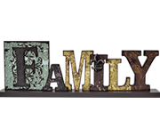 Family Table Sign