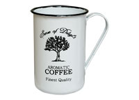 Enamelware Coffee Cup