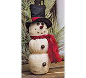 *Rustic Country Snowman