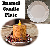 "5"" Enamel Candle Pan"