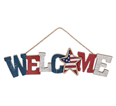 Americana Welcome Sign, 15""