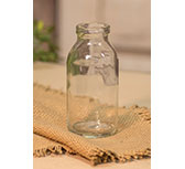 Clear Glass Bottle - 4\