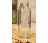 Clear Glass Bottle - 6\