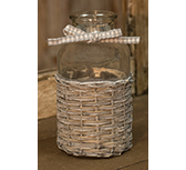 Willow Glass Bottle - 5\