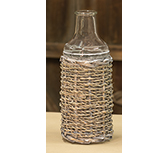 Seagrass Glass Bottle - 7.5\