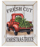 Fresh Cut Christmas Trees Framed Print