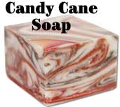 *Candy Cane Soap