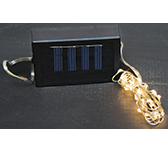 Solar Light Strand - 20 Lights