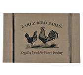 Fancy Poultry Placemats, 2/Set