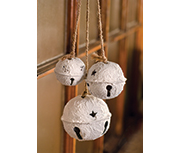 White Bell Hanging Ornament