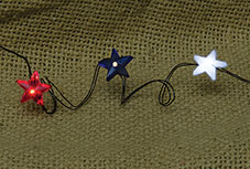 Patriotic Star LED Lights