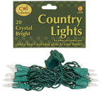 Light Set, Green Cord, 20ct