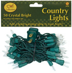 Light Set, Green Cord, 50