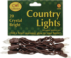 Light Set, Brown Cord, 20ct