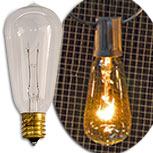 7W Mini Edison Bulbs, 2/pk