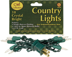 Light Set, Green Cord, 10ct