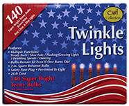 Red/White/Blue Twinkle Lights