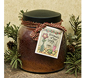 Gingerbread Jar Candle